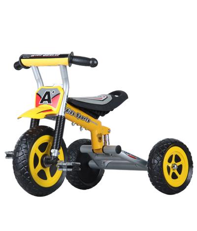 Детский трехколесный велосипед NeoTrike Spider (Неотрайк Спайдер) желтый