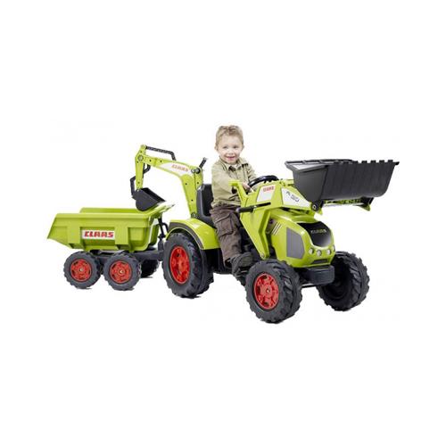 Трактор-экскаватор Falk (Фолк) педальный с прицепом