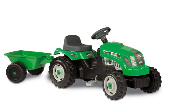 """Трактор """"GM Bull"""" зеленый Smoby (Смоби)"""