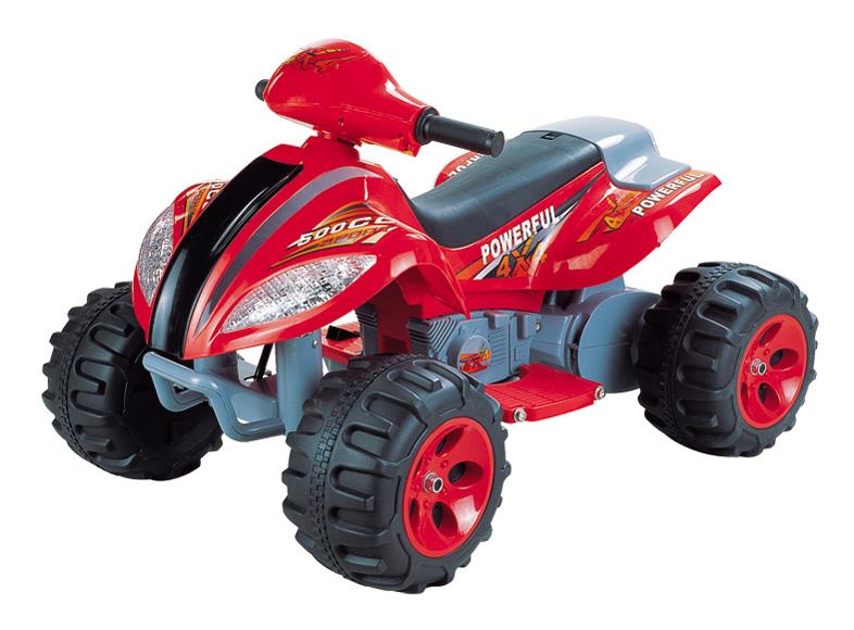 Детский электроквадроцикл NeoTrike Quadro  (Неотрайк Квадро) красный