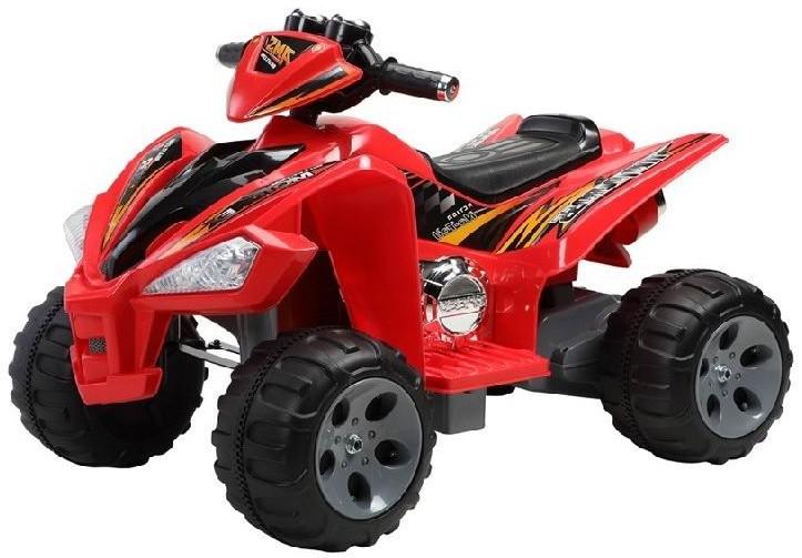 Детский электроквадроцикл NeoTrike Quadro Beach  (Неотрайк Квадро Берег) красный