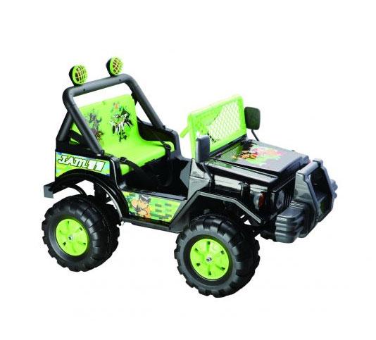 Джип Bugati (Бугати) на аккумуляторе (зеленый)