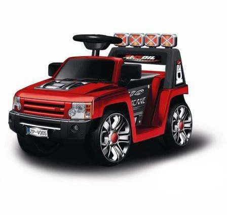 Электромобиль Bugati (Бугати) Land-Rover красный