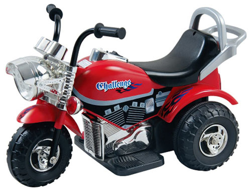 Мотоцикл Bugati (Бугати) Challenge красно-черный