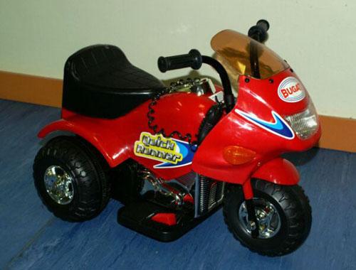 Мотоцикл Bugati (Бугати) Quick Runner красный