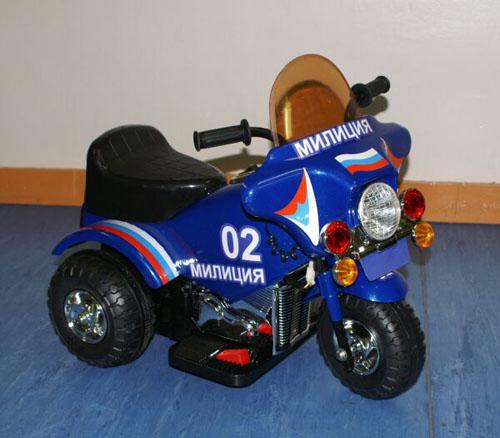 Мотоцикл Bugati (Бугати) Милиция синий металлик