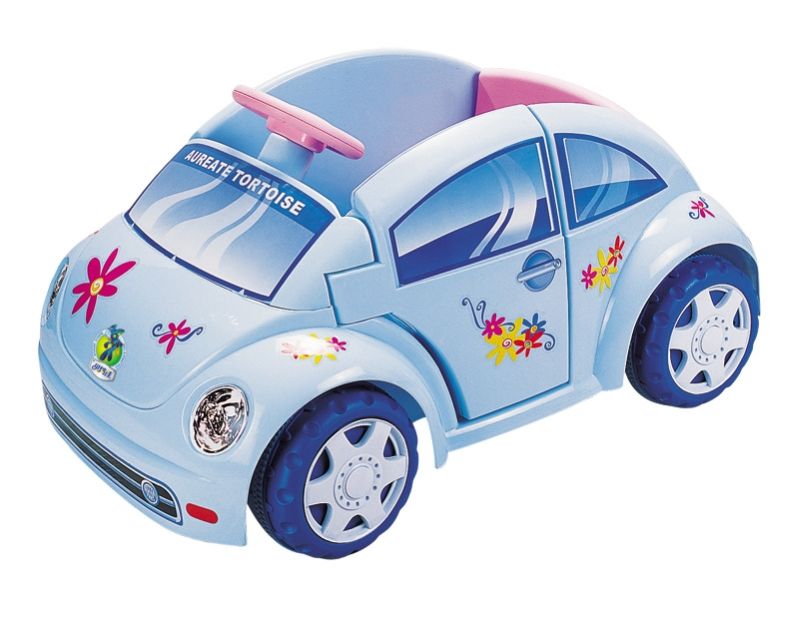 Детский электромобиль NeoTrike Beetle (Неотрайк Битл) голубой