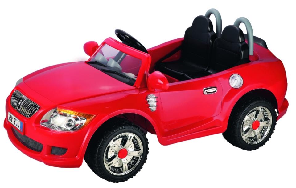 Детский электромобиль NeoTrike Cabrio BMW 2 (Неотрайк Кабрио БМВ) красный с пультом радиоуправления