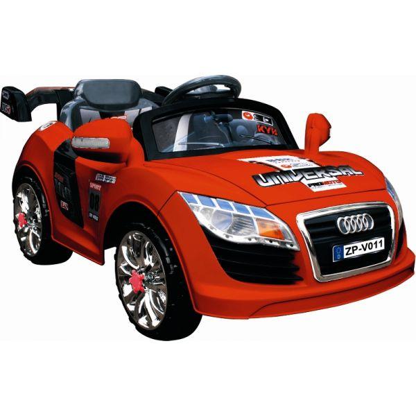 Детский электромобиль BUGATI красный с пультом радиоуправления