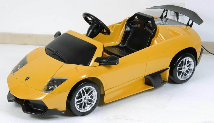 Детский электромобиль Bugati (Бугати) LAMBORGHINI MURCHIELAGO LP 670-4 SV