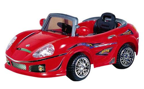 Машина Bugati (Бугати) на аккумуляторе (красная)
