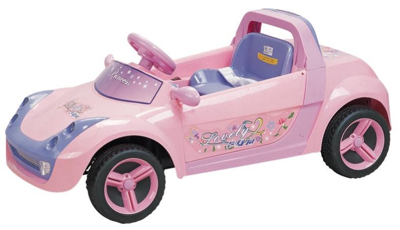 Детский электромобиль NeoTrike Princess (Неотрайк Принцесс)  с пультом радиоуправления