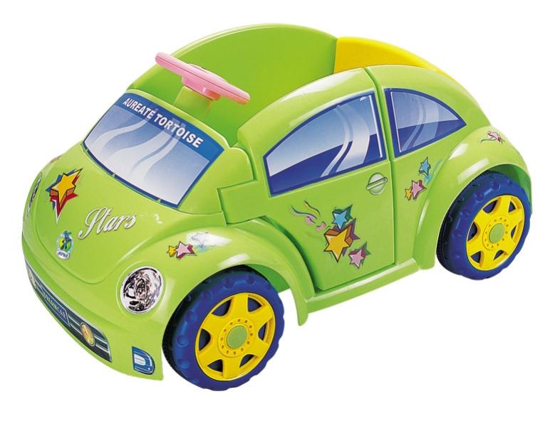 Детский электромобиль NeoTrike Beetle (Неотрайк Битл)  зеленый с пультом радиоуправления