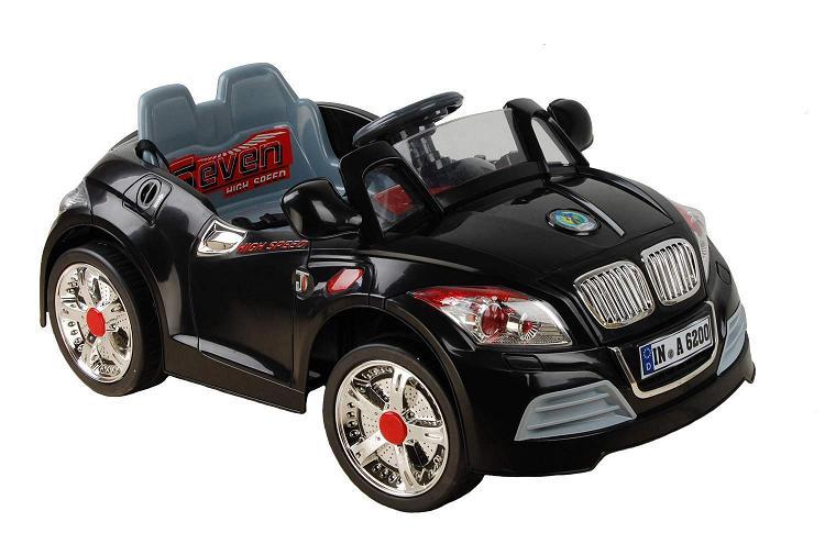 Детский электромобиль NeoTrike Cabrio BMW (Неотрайк Кабрио БМВ) черный с пультом радиоуправления