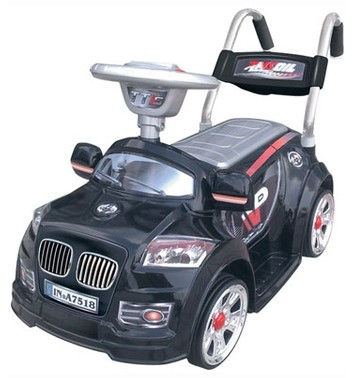 Детский электромобиль NeoTrike Mini BMW  (Неотрайк Мини BMW) черный