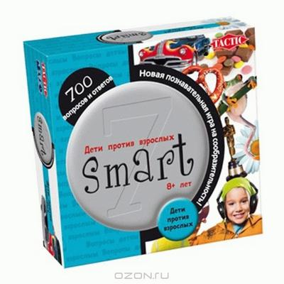 """Игра-викторина """"Smart 7. Дети против взрослых"""""""