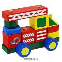 Деревянный автомобиль-конструктор № 2