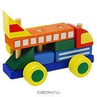 Деревянный автомобиль-конструктор № 1