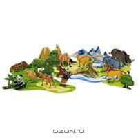 """Набор для творчества """"3D Modellogic: Животный мир"""", 71 элемент"""