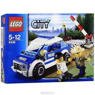 4436 Lego: Патрульная машина