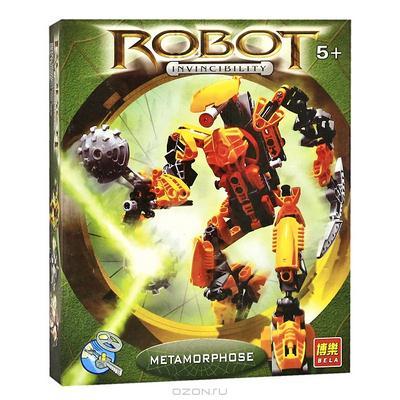"""Конструктор """"Робот-Воин"""", цвет: желтый"""