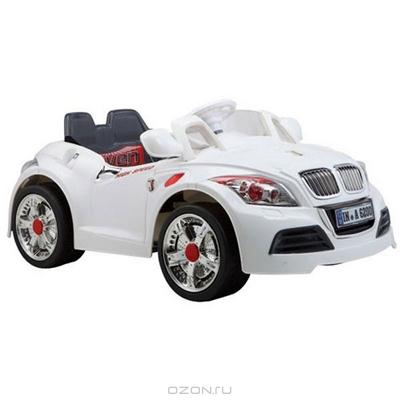"Детский автомобиль-каталка ""Bugati"", на аккумуляторе, цвет: белый. Y043-H08012"
