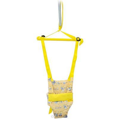 """Игрушка-тренажер """"Прыгунки 3 в 1″, цвет: желтый"""