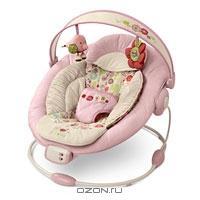 """Кресло-качалка """"Комфорт и гармония"""", цвет: розово-бежевый"""