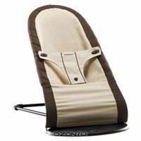 """Кресло-шезлонг BabyBjorn """"Balance"""", цвет: коричневый, бежевый"""