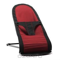 """Кресло-шезлонг BabyBjorn """"Balance"""", цвет: черный, красный"""