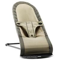"""Кресло-шезлонг BabyBjorn """"Balance Organic"""", цвет: светло-коричневый, бежевый"""