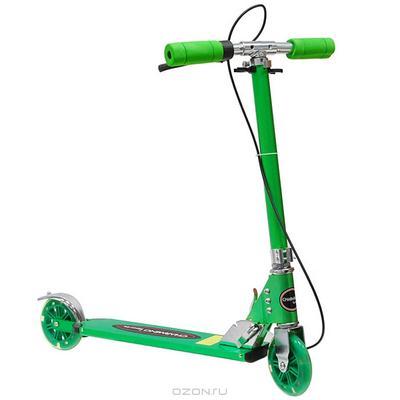 """Самокат двухколесный """"Charming Sports"""", цвет: зеленый. CMS025"""