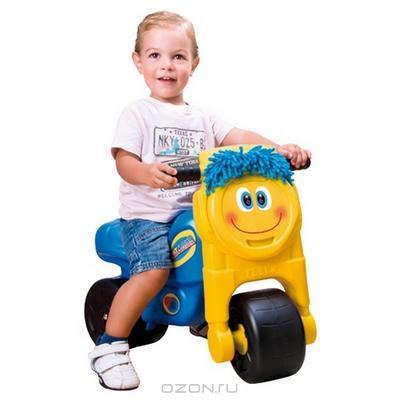 """Каталка для мальчиков """"Feber"""", цвет: голубой, желтый"""