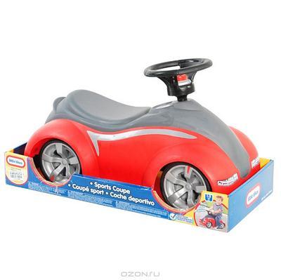 """Детский автомобиль-каталка """"Машинка-спортивное купе"""", цвет: красно-серый"""