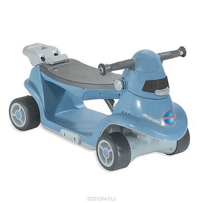"""Каталка-самокат """"Smart-Trike All in One 5″, цвет: синий"""