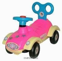 """Каталка-автомобиль для девочек """"Сабрина"""""""