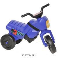 """Детский мотоцикл Веларти """"Мини"""", цвет: синий"""