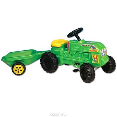 """Детский трактор Velarti """"Мега"""", цвет: зеленый. D100"""