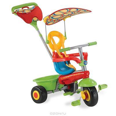 """Трехколесный велосипед """"Smart-Trike Fresh"""", цвет: красный, зеленый. 1461800"""