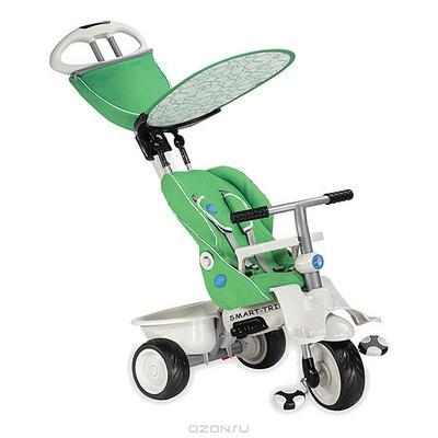 """Трехколесный велосипед """"Smart-Trike Recliner Stroller"""", цвет: зеленый. 1910800"""