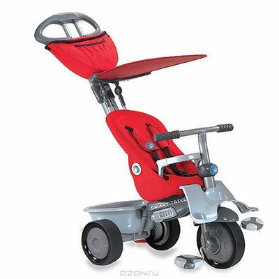 """Трехколесный велосипед """"Smart-Trike Recliner"""", цвет: красный. 1961900"""