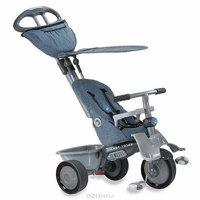 """Трехколесный велосипед """"Smart-Trike Recliner"""", цвет: серый. 1962000"""