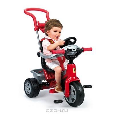 """Трицикл """"Феррари"""", цвет: красный"""