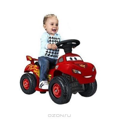 """Квадроцикл """"Молния МакКуин"""", с электроприводом, цвет: красный"""