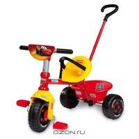 """Трехколесный велосипед Smoby """"Cars"""", цвет: красный. 444147"""