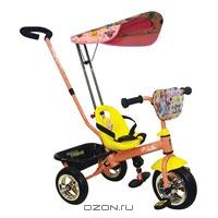 """Трехколесный велосипед Navigator Trike """"Ранетки"""", цвет: розовый, желтый. Т54161"""
