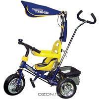 """Трехколесный велосипед """"Navigator Trike"""", цвет: синий, желтый. Т53944"""