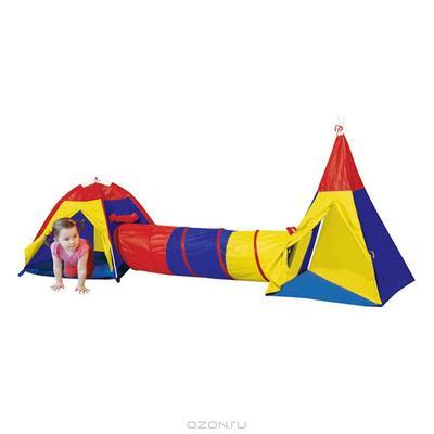 """Палатка """"Игровой туннель"""", 3в1"""