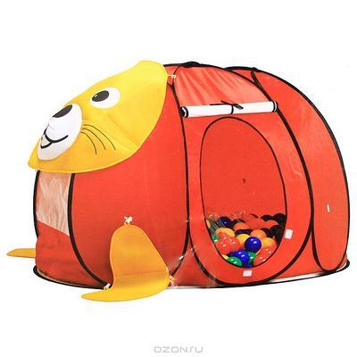 """Палатка """"Котенок"""", с шариками"""