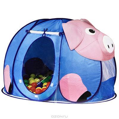 """Палатка """"Поросенок"""", с шариками"""